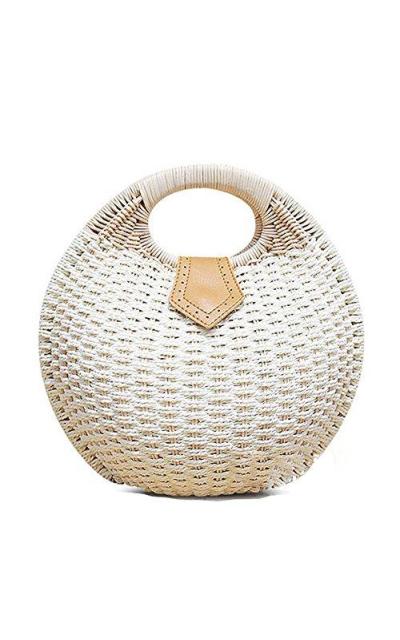 Pulama Wicker Woven Straw Bag
