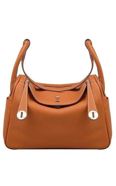 Ainifeel Genuine Leather Hobo Shoulder Bag