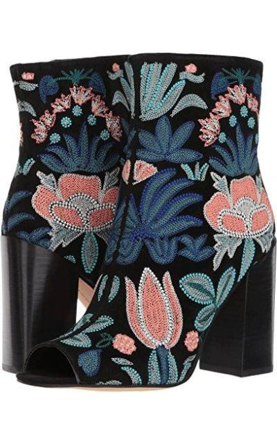 Rebecca Minkoff Billie Embroidered Booties