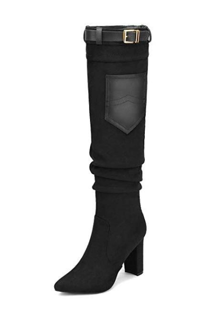 DREAM PAIRS Thigh High Over The Knee Boots