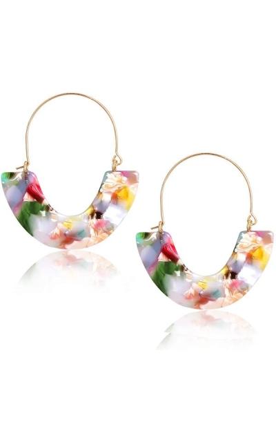 CEALXHENY Acrylic Earrings