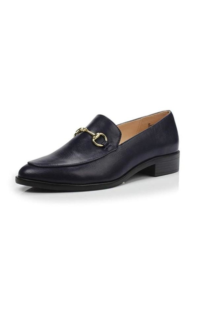 DUNION Brandon Chain Penny Loafers
