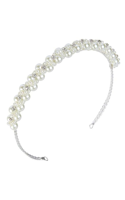 EVER FAITH Pearl Headband