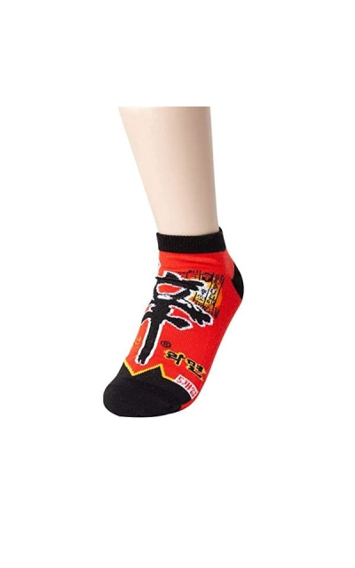 Sockstheway Shin Ramen Ankle Crew Socks