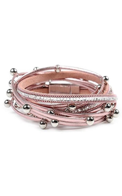 Artilady Shinning wrap Clasp Bangle