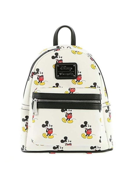 Loungefly x Mickey All Over Mini Backpack