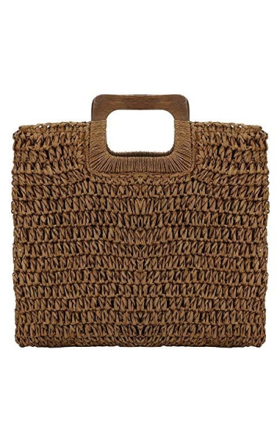Onorner Classic Straw Tote