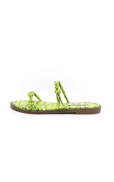 Cape Robbin Spring Swirl Slide Sandals
