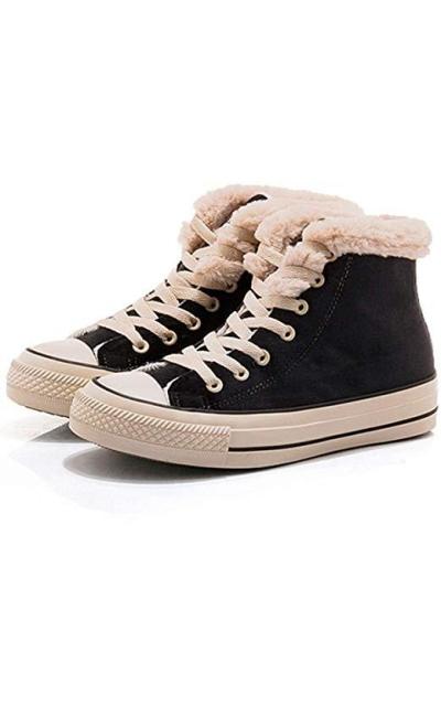 JUSTFASHIONNOW Fur Sneakers