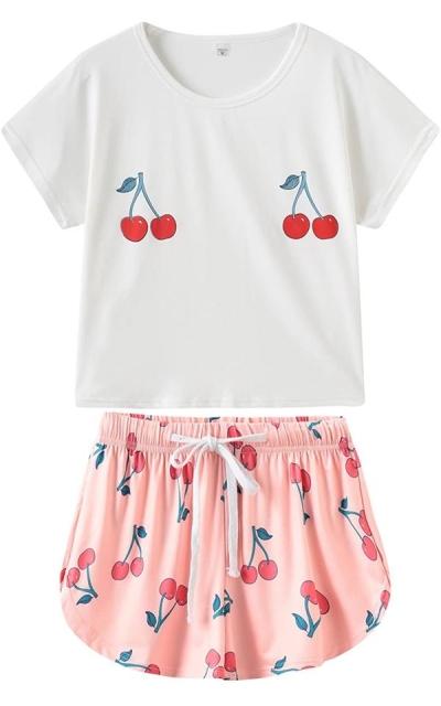 VENTELAN Cherry Pajamas