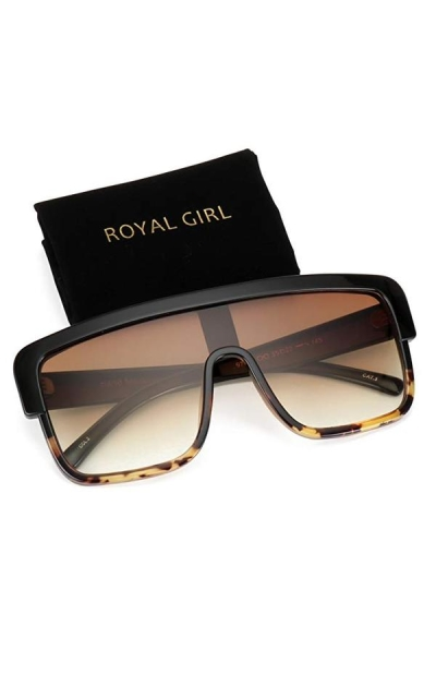 ROYAL GIRL Premium Oversized Sunglasses