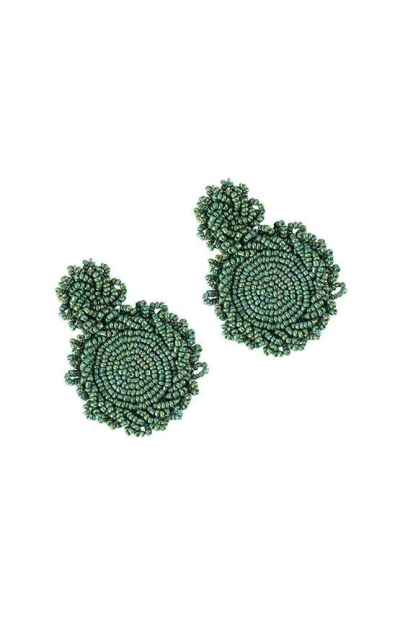 BEST LADY Bohemian Beaded Round Earrings