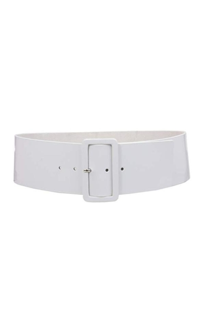 High Waist Wide Square Belt