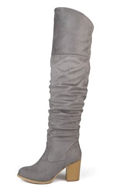 Brinley Co. Faux Suede Over-The-Knee Boots