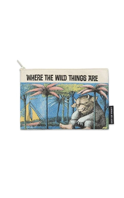 Out of Print Literary and Book Wild Things Pouch