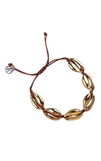 KELITCH Natural Shell Gold Shell Bracelet