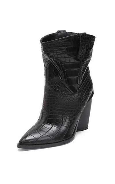MACKIN J 126-3 Western Cowboy Slouchy Ankle Booties