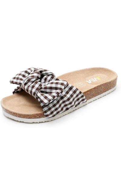 WTW Summer Bow Cork Sandals