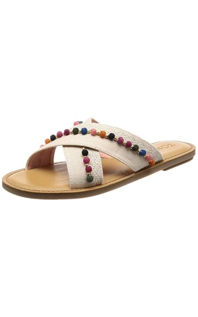 Toms Viv Open Toe Casual Slide Sandals