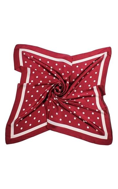 Jaweaver Square Oblong Silk Satin Scarves