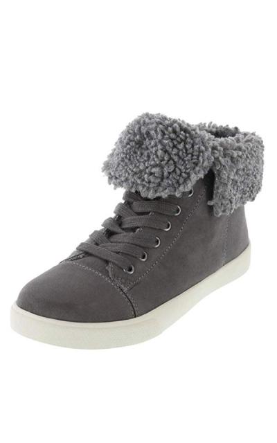 Brash Elliot Fur-Lined Sneaker