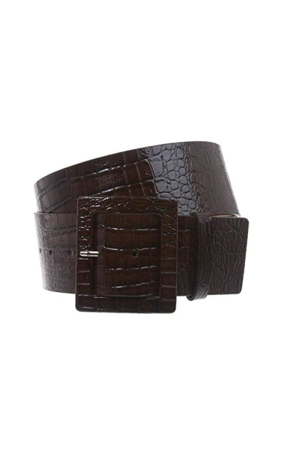 Croco Wide Belt