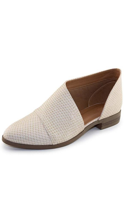 Almond Slip On Loafers