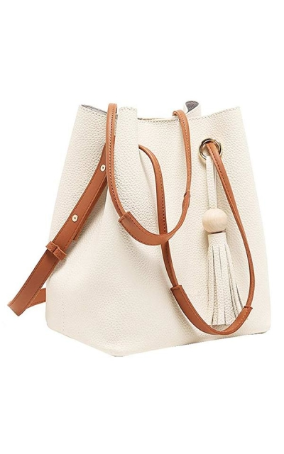 Turelifes Tassel Buckets Handbag