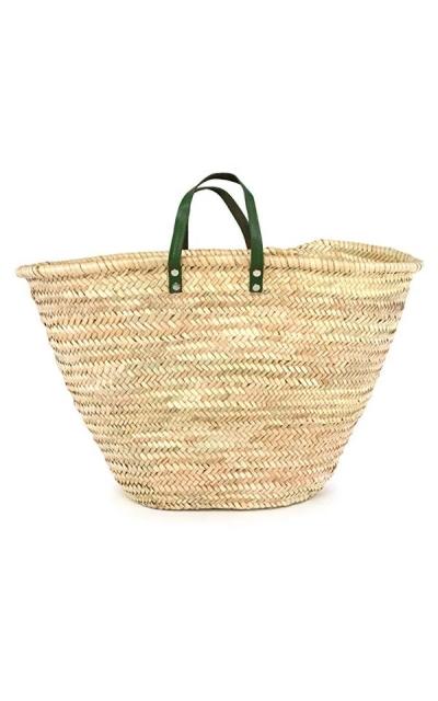 Moroccan Straw Market Bag