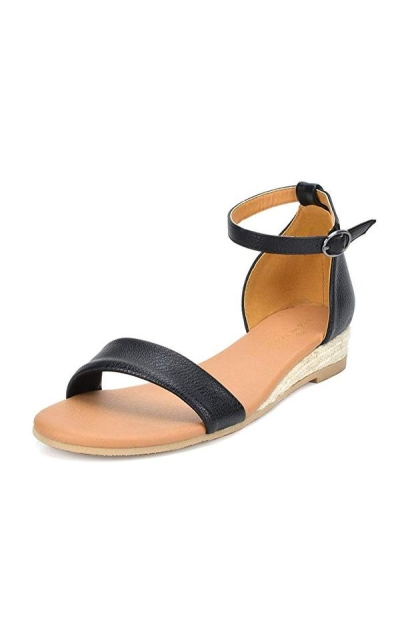 DREAM PAIRS Formosa Low Wedge Sandal