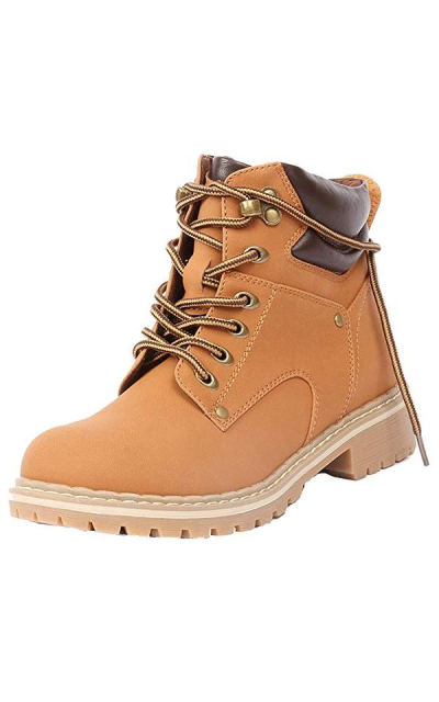 Forever Ankle High Combat Hiking Boots