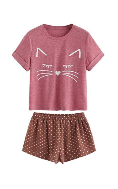 DIDK Kitty Pajama Set
