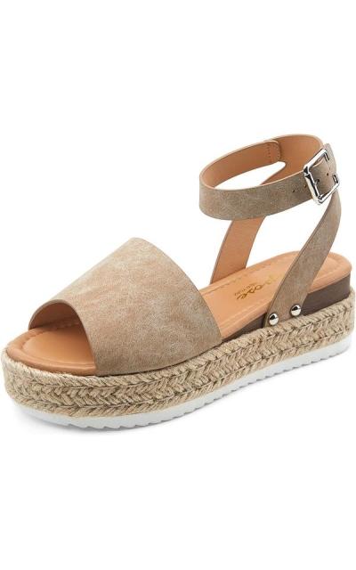 VEPOSE Platform Sandals