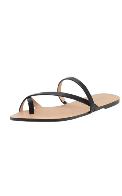 Rohb by Joyce Azria Eve Cross Front Strappy Slip On Sandal