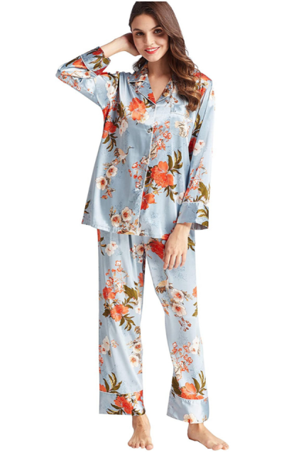 Belle Heure Silky Satin Pajamas