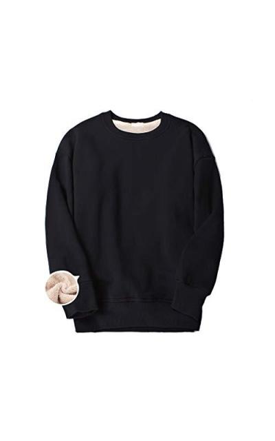 Aprsfn Sherpa Lined Sweatshirt