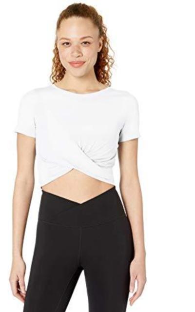 Core 10 Cropped Yoga T-Shirt