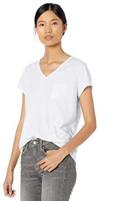 Amazon Brand - Goodthreads Cotton Pocket V-Neck T-Shirt