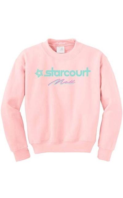 NuffSaid Hawkins Starcourt Mall Crewneck Sweatshirt
