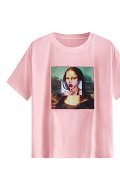 Romwe Basic Mona Tee Shirt