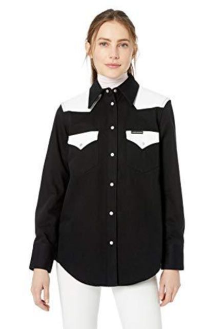 Calvin Klein Jeans Denim Button Down Shirt