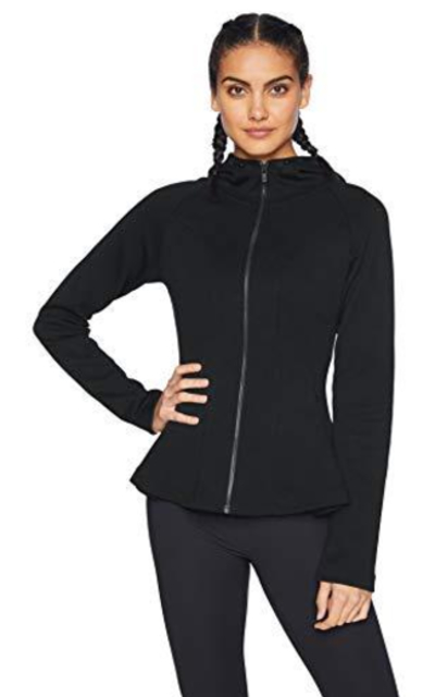 Core 10 Motion Tech Fleece Peplum Hoodie Jacket