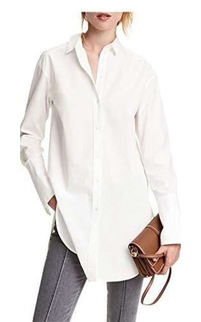IRISIE Boyfriend Button Down Shirt