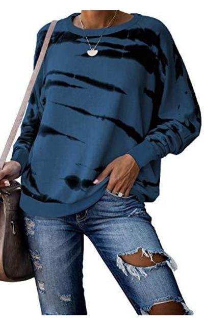 Dokotoo Tie Dye Print Sweatshirt