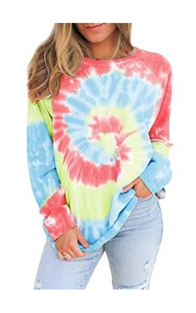 FARYSAYS Tie Dye Sweatshirt