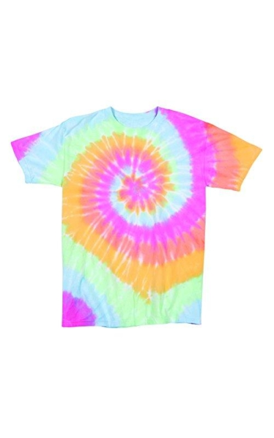 Rainbow Swirly Tie Dye T-Shirt