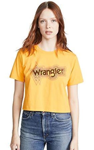 Wrangler Crop Tee
