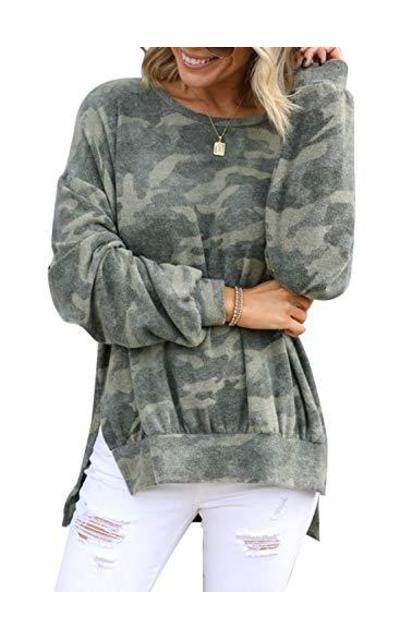 Lovezesent Sweatshirts Baggy Shirt