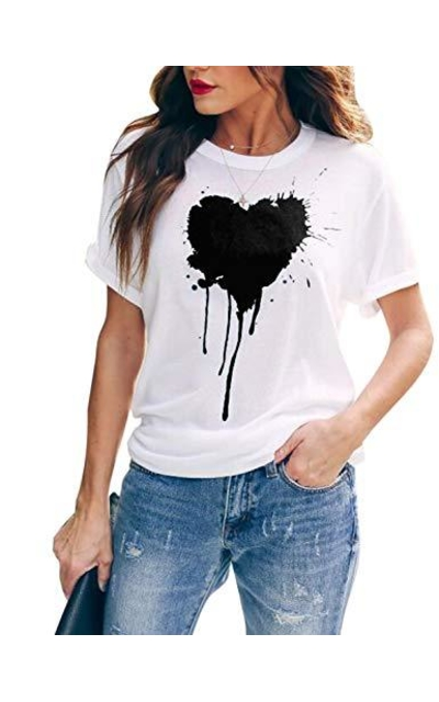 Blooming Jelly Heart Graphic Tee