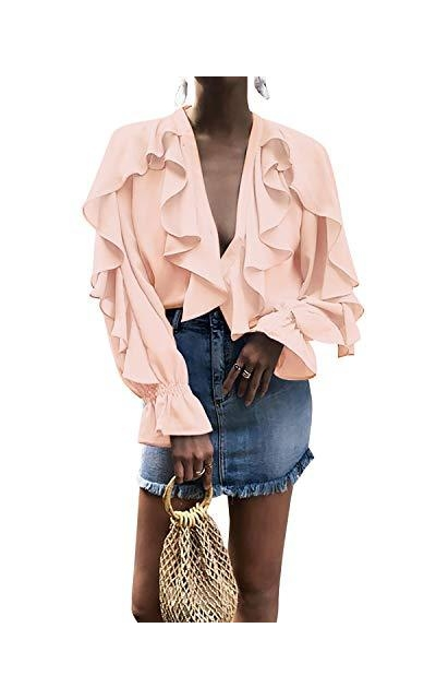 SOLERSUN Ruffle Blouse